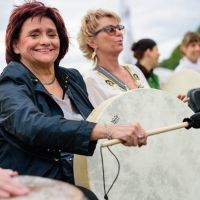 Drum Circle Berlin - Tempelhofer Feld 2016-13690577